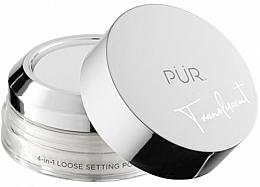 Düfte, Parfümerie und Kosmetik 4in1 Loser Gesichtspuder transparent - PUR 4-in-1 Loose Setting Powder