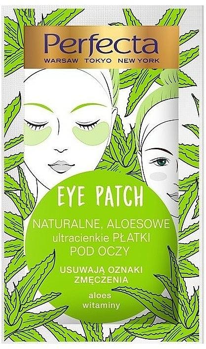 Augenpatches mit Aloe und Vitaminen gegen Anzeichen von Müdigkeit - Perfecta Eye Patch Aloe & Vitamins