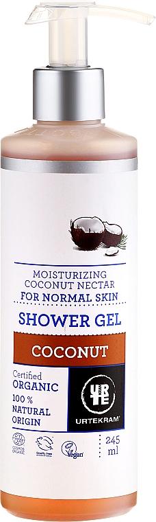 Pflegedusche mit Kokos- und Mandelduft - Urtekram Coconut Shower Gel