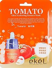 Düfte, Parfümerie und Kosmetik Feuchtigkeitsspendende Tuchmaske für das Gesicht mit Tomatenextrakt - Ekel Tomato Ultra Hydrating Mask