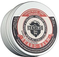Düfte, Parfümerie und Kosmetik Bart- und Schnurrbartbalsam mit Zedernholz, Kiefer und Bergamotte - Beviro Beard Balm Cedar Wood Pine Bergamot