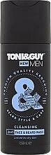Düfte, Parfümerie und Kosmetik 2in1 Waschgel für Gesicht und Bart - Toni & Guy Men Cleansing 2in1 Face & Beard Wash