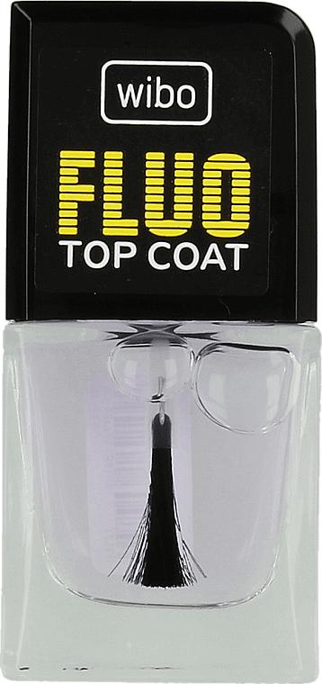 Fluoreszierender Nagelüberlack - Wibo Fluo Top Coat — Bild N1