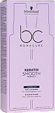 Düfte, Parfümerie und Kosmetik Leave-In Pflege für widerspenstiges bis sprödes Haar - Schwarzkopf Professional Keratin Smooth Perfect Duo Layering