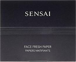 Düfte, Parfümerie und Kosmetik Mattierende Gesichtstücher - Kanebo Sensai Face Fresh Paper