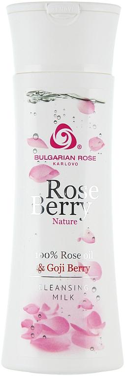 Gesichtsreinigungsmilch mit Goji-Beeren - Bulgarian Rose Rose and Goji Berry Cleansing Milk