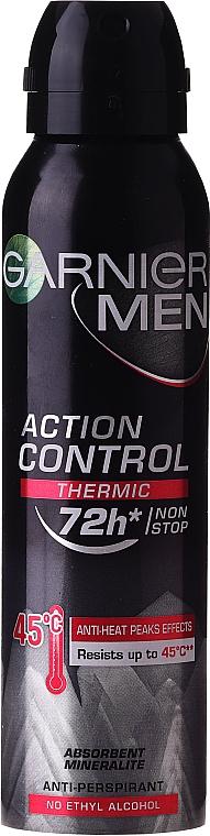 Deospray Antitranspirant - Garnier Mineral Deodorant Men 72h