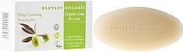 Tiefenreinigende Seife mit Olive, Teebaum und Eukalyptus - Bentley Organic Body Care Deep Cleansing Soap Bar — Bild N1