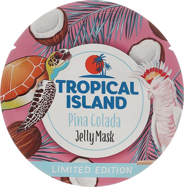 Gelee-Maske für das Gesicht mit Aroma von Pina Colada - Marion Tropical Island Pina Colada Jelly Mask