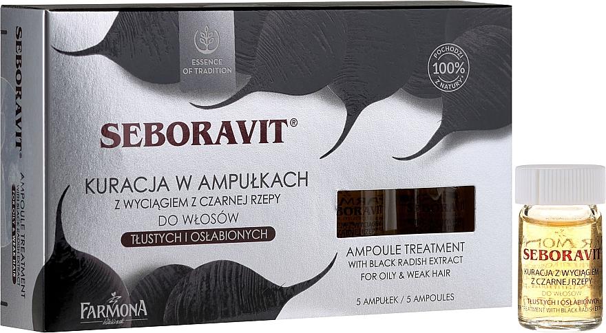 Kopfhaut Komplex mit Extrakten aus schwarzem Rettich - Farmona Seboravit