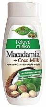Düfte, Parfümerie und Kosmetik Körpermilch mit Macadamia und Kokosmilch - Bione Cosmetics Macadamia + Coco Milk