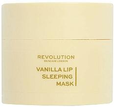 Düfte, Parfümerie und Kosmetik Lippenmaske für die Nacht mit Vanille - Revolution Skincare Vanilla Lip Sleeping Mask