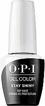Düfte, Parfümerie und Kosmetik Zabezpieczający top coat - O.P.I. Gel Stay Shiny Top Coat