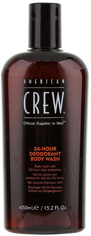 Duschgel mit 24 Stunden Schutz vor Körpergeruch - American Crew Classic 24-Hour Deodorant Body Wash