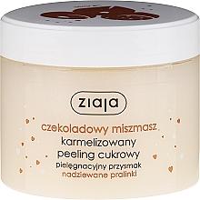Düfte, Parfümerie und Kosmetik Zuckerpeeling für Körper mit Schokolade - Ziaja Sugar Body Peeling