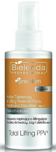 Lifting-Aktivator für Gesicht, Hals und Dekolleté - Bielenda Professional Premium Total Lifting PPV+ Activator — Bild N1