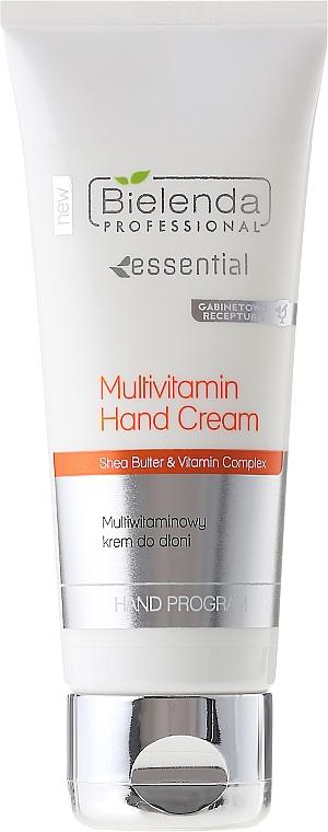Handcreme mit Sheabutter und Vitaminen - Bielenda Professional Multivitamin Hand Cream