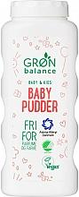 Düfte, Parfümerie und Kosmetik Talkpuder für Babys und Kinder - Gron Balance Baby & Kids Baby Pudder