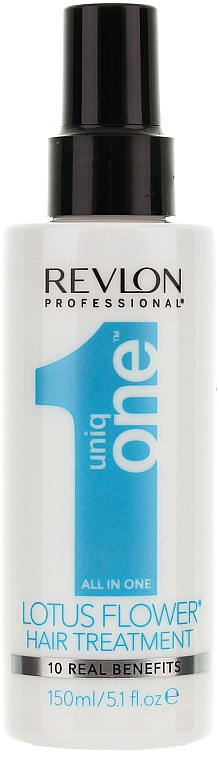 10in1 Aufbauender Haarspray mit Lotusduft - Uniqone All in one Hair Treatment Lotus Flower 10 Real Benefits