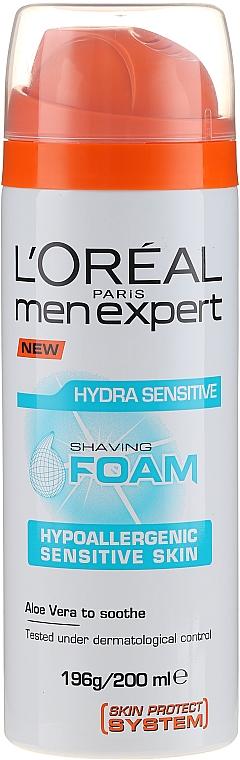 Rasierschaum für empfindliche Haut - L'Oreal Paris Men Expert