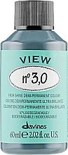 Düfte, Parfümerie und Kosmetik Haarfarbe - Davines View