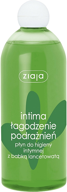 Beruhigendes Gel für die Intimhygiene gegen Reizungen mit Wegerich - Ziaja Intima Gel