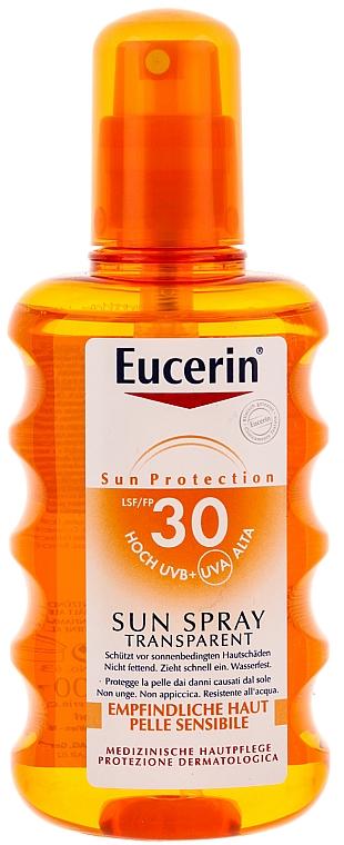 Sonnenschutzspray für den Körper SPF 30 - Eucerin Sun Spray Transparent SPF 30