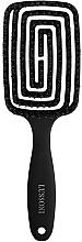 Düfte, Parfümerie und Kosmetik Labyrinth Haarbürste mit Naturschweinborsten groß - Lussoni Labyrinth Large Natural Hair Brush