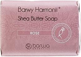 Düfte, Parfümerie und Kosmetik Seife mit Sheabutter und Rosenextrakt - Barwa Harmony Rose Soap