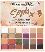Düfte, Parfümerie und Kosmetik Lidschattenpalette - Makeup Revolution Soph X Eyeshadow Palette
