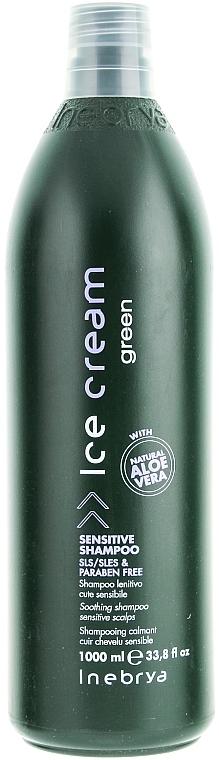 Shampoo für empfindliche Kopfhaut - Inebrya Green Sensitive Shampoo