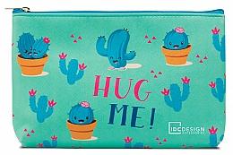 Düfte, Parfümerie und Kosmetik Kosmetiktasche mit Aufdruck, Türkis - IDC Design Accessories Cosmetig Bag