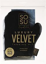 Düfte, Parfümerie und Kosmetik Handschuh zum Auftragen von Bräunungsprodukte - Sosu by SJ Dripping Gold Luxury Tanning Mitt Velvet