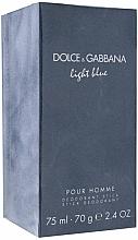 Dolce & Gabbana Light Blue Pour Homme - Parfümierter Deostick — Bild N1