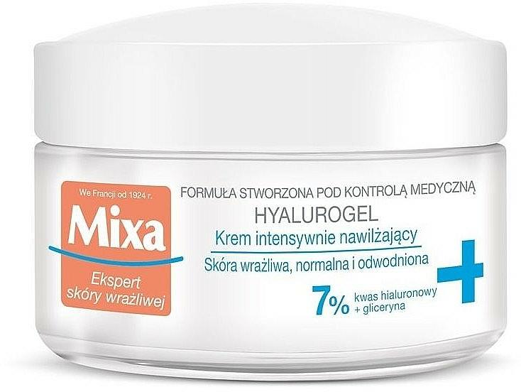 Feuchtigkeitsspendendes Gesichtscreme-Gel - Mixa Sensitive Skin Expert Hyalurogel