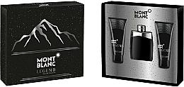 Düfte, Parfümerie und Kosmetik Montblanc Legend - Duftset (Eau de Toilette 100ml + After Shave Balsam 100ml + Duschgel 100ml)