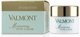 Düfte, Parfümerie und Kosmetik Revitalisierende Feuchtigkeitsmaske für das Gesicht mit Sheabutter - Valmont Moisturizing With A Mask