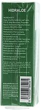 Feuchtigkeitsspendende Anti-Aging Augenkonturcreme mit Aloe - SesDerma Laboratories Hidraloe Eye Contour Cream — Bild N3