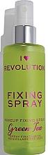 Düfte, Parfümerie und Kosmetik Make-up-Fixierer - I Heart Revolution Fixing Spray Green Tea