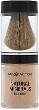 Düfte, Parfümerie und Kosmetik Loser Mineralpuder mit integriertem Pinsel - Max Factor Natural Minerals