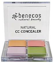 Düfte, Parfümerie und Kosmetik Konturierpalette - Benecos Natural CC Concealer