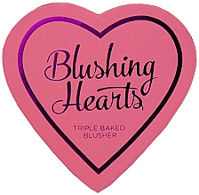 Düfte, Parfümerie und Kosmetik Gebackenes Gesichtsrouge Trio - I Heart Revolution Blushing Hearts Blusher