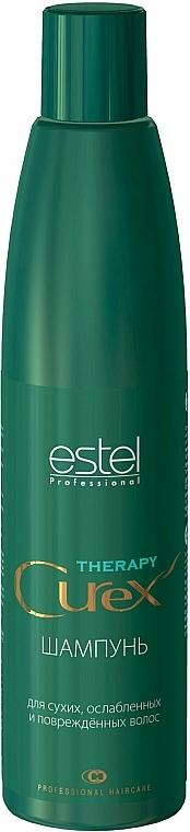 Farbschutz Shampoo für coloriertes Haar - Estel Professional Curex Therapy Shampoo — Bild N1