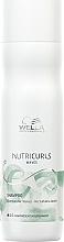 Düfte, Parfümerie und Kosmetik Pflegendes und feuchtigkeitsspendendes Shampoo für gewelltes und lockiges Haar - Wella Professionals Nutricurls Waves Shampoo