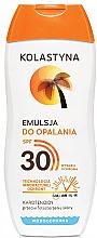 Düfte, Parfümerie und Kosmetik Wasserfeste Sonnenschutzcreme LSF 30 - Kolastyna Suncare Emulsion SPF 30