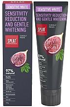 Düfte, Parfümerie und Kosmetik Aufhellende Zahnpasta mit Enzymen und Ölen - SPLAT Professional Bio Sensitive White Sensitivity Reduction & Gentle Whitening