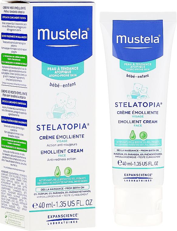 Aufweichende Gesichtscreme gegen Rötungen für Kinder und Babys - Mustela Bebe Emollient Cream
