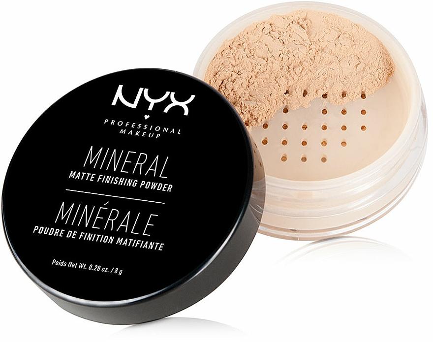Loser Mineralpuder - NYX Professional Makeup Mineral Matte Finishing Powder