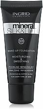 Düfte, Parfümerie und Kosmetik Feuchtigkeitsspendende Mineral Foundation - Ingrid Cosmetics Mineral Silk & Lift