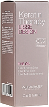 Düfte, Parfümerie und Kosmetik Haaröl mit Keratin - Alfaparf Lisse Design Keratin Therapy Oil